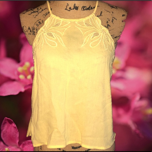 Kendall & Kylie Tops - New- Kendall & Kylie Lace Embroidered Top